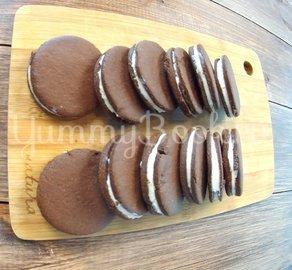 Печенье oreo с сырным кремом - шаг 4