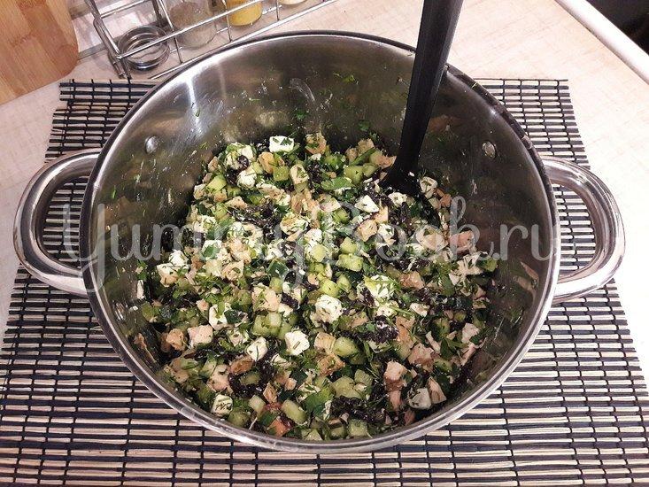 Праздничный салат с тыквой - шаг 5