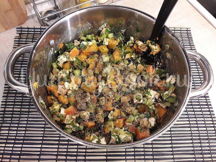 Праздничный салат с тыквой - шаг 7
