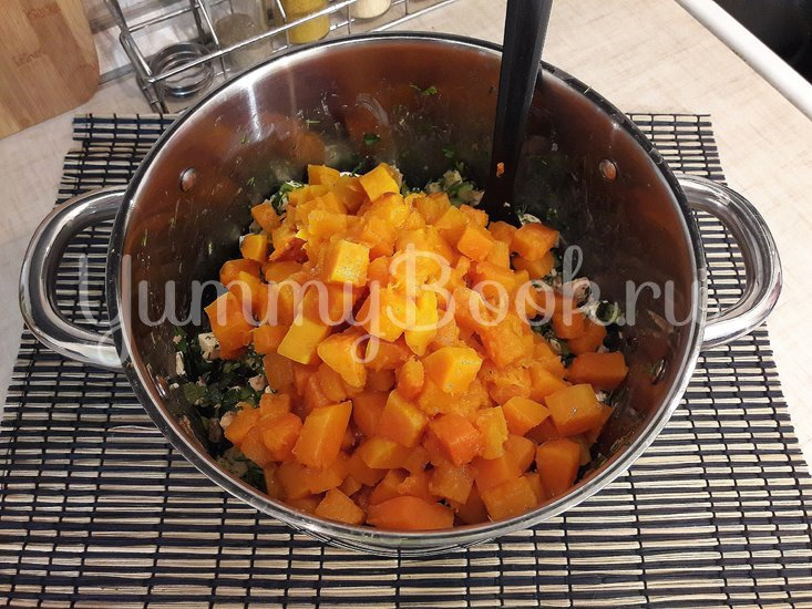 Праздничный салат с тыквой - шаг 6