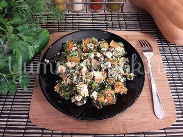 Праздничный салат с тыквой - шаг 8