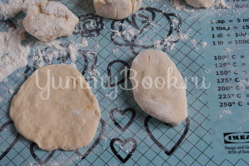 Жареные пирожки с тыквой - шаг 9
