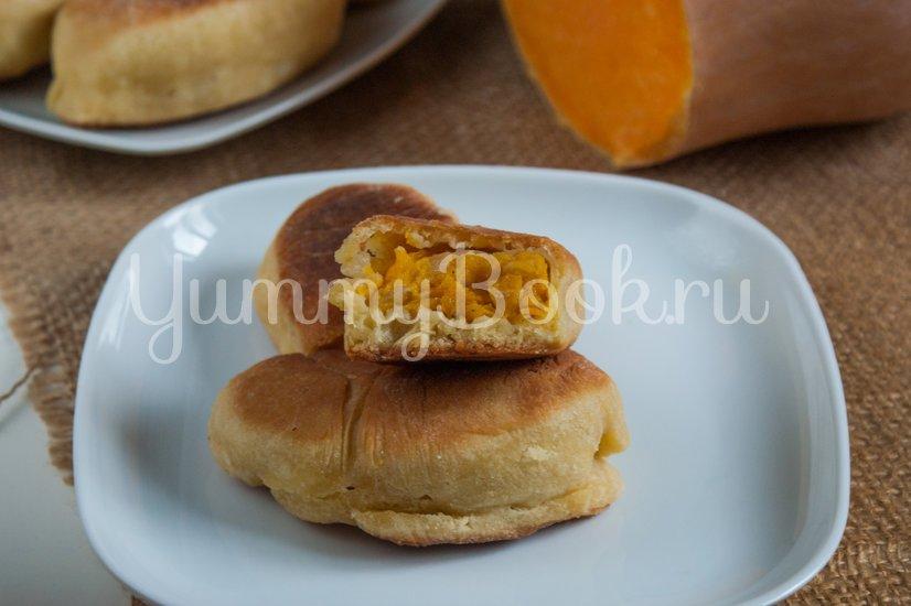 Жареные пирожки с тыквой - шаг 12