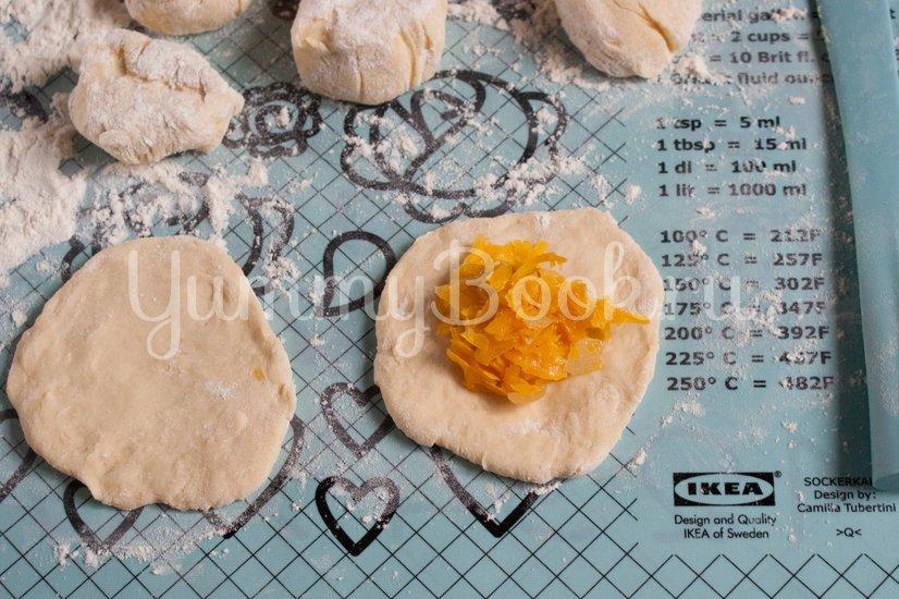 Жареные пирожки с тыквой - шаг 7