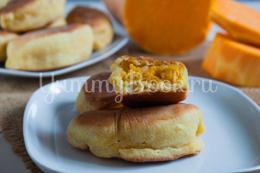 Жареные пирожки с тыквой