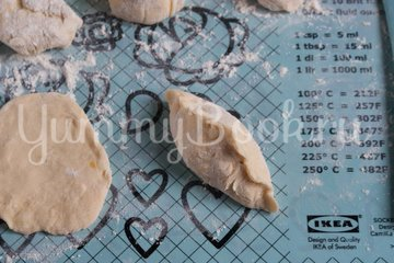 Жареные пирожки с тыквой - шаг 8