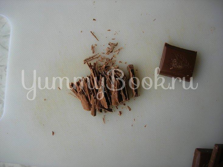 Апельсиновый пирог с кусочками молочного шоколада - шаг 3