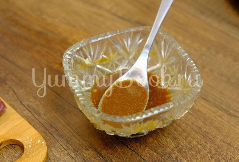 Стейк из говядины с васаби, соевым соусом и кунжутом - шаг 1