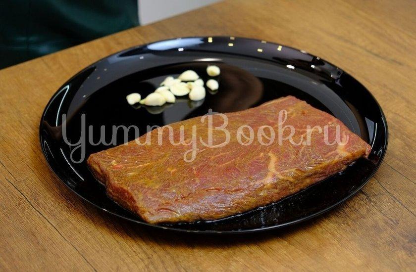 Стейк из говядины с васаби, соевым соусом и кунжутом - шаг 2