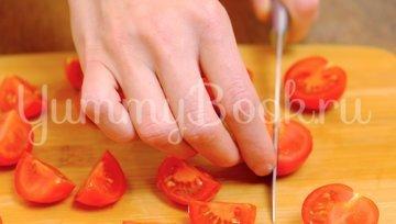 Салат с кальмарами, креветками и новым соусом - шаг 3
