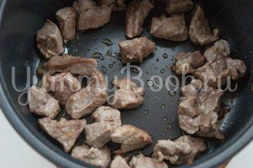 Булгур с мясом и овощами в мультиварке - шаг 1