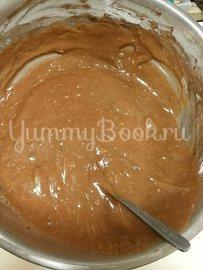 Пирог  шоколадный с творожными шариками в мультиварке - шаг 5