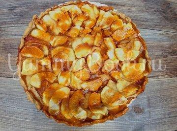 Яблочная галета с карамелью - шаг 7