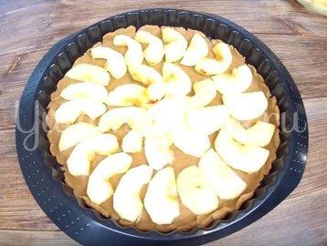 Яблочная галета с карамелью - шаг 5