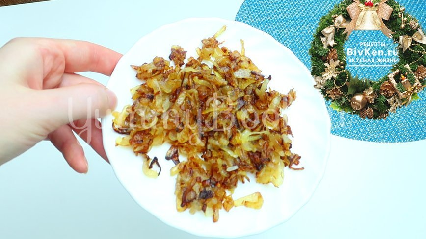 Рис с куриными бёдрами в тыкве - шаг 2