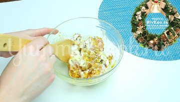 Рис с куриными бёдрами в тыкве - шаг 3