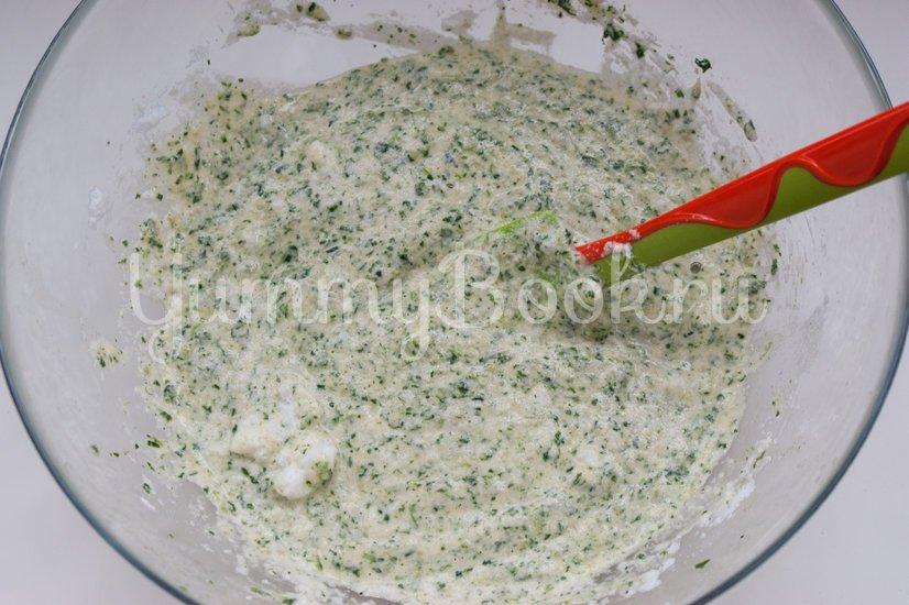Канапе из шпинатного бисквита, творожного сыра и сёмги - шаг 7