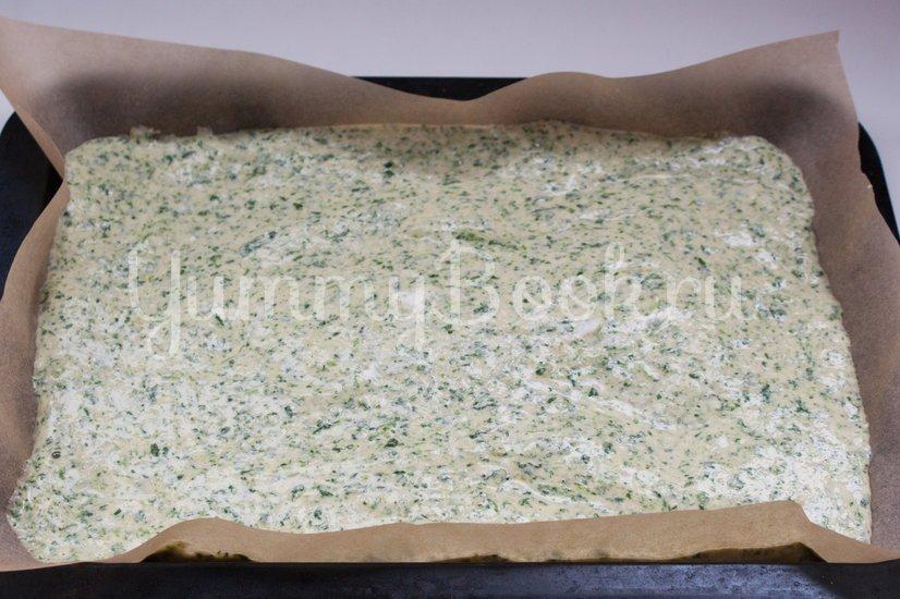 Канапе из шпинатного бисквита, творожного сыра и сёмги - шаг 8
