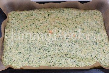 Канапе из шпинатного бисквита, творожного сыра и сёмги - шаг 9