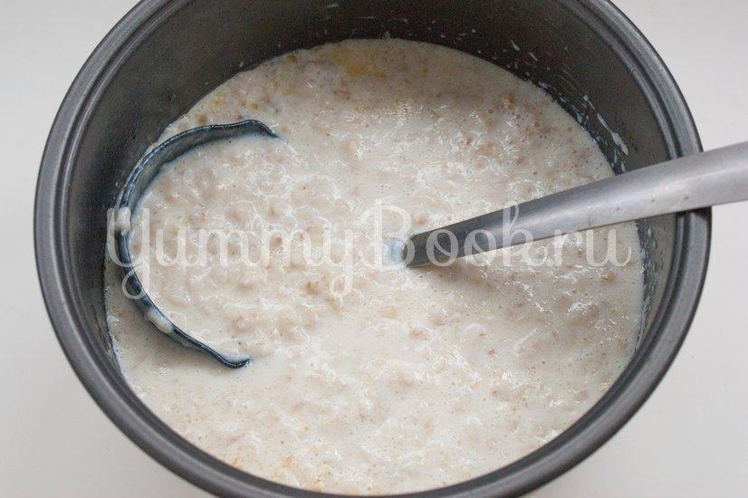 Молочная овсяная каша в мультиварке - шаг 3