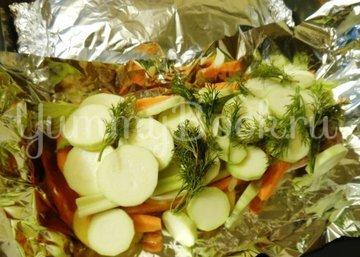 Куриные бёдра, запечённые с овощами в фольге - шаг 11