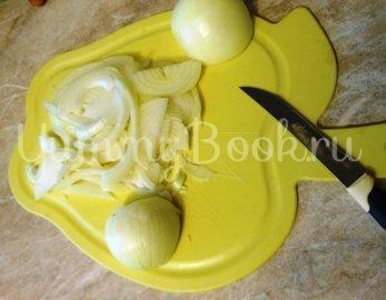 Куриные бёдра, запечённые с овощами в фольге - шаг 2