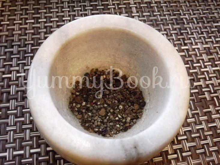 Пряный гороховый суп-похлебка с овощами и копчеными ребрышками - шаг 10