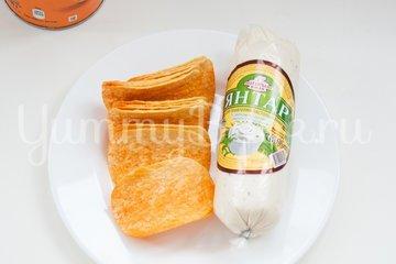Закуска на чипсах - шаг 1