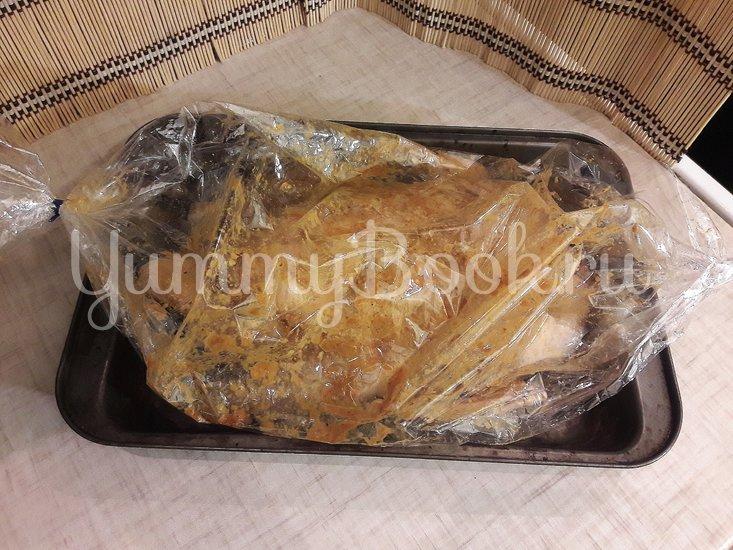 Запечённая утка в медово-горчичном маринаде - шаг 7