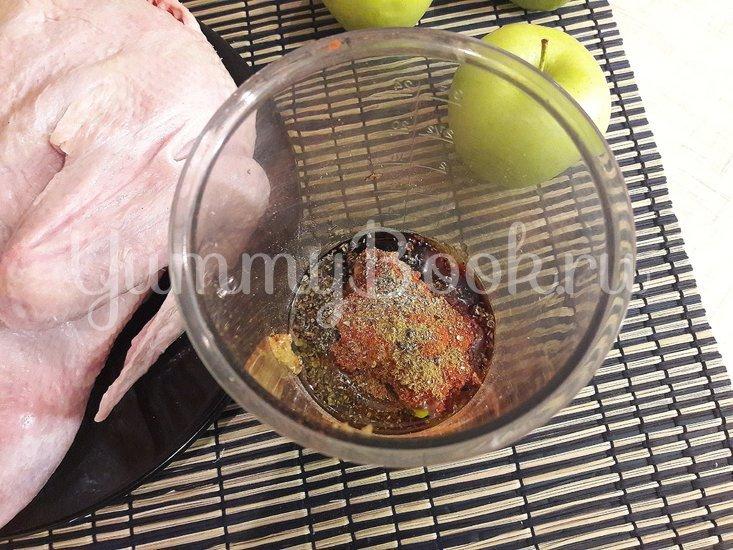 Запечённая утка в медово-горчичном маринаде - шаг 2