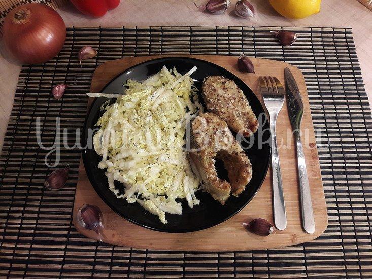 Запечённая форель в горчично-медовом маринаде - шаг 8