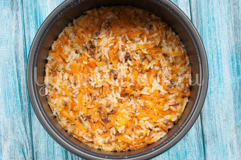Тыквенно-рисовая запеканка в мультиварке - шаг 8