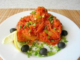Рыбное филе под маринадом