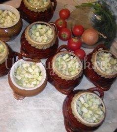 Свинина с овощами в горшочке - шаг 8