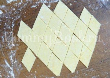 Слоистое печенье из 3 ингредиентов - шаг 4