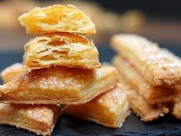 Слоистое печенье из 3 ингредиентов