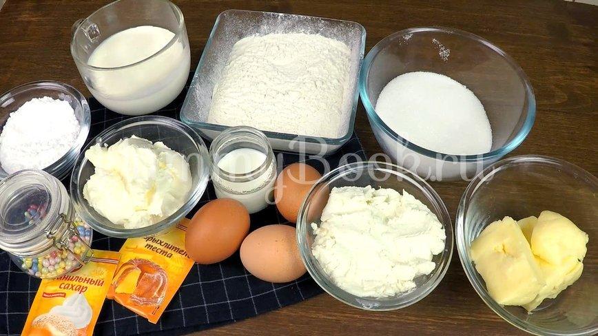 Капкейки с кремом из маскарпоне - шаг 1