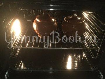 Индюшачья  печень в горшочках - шаг 8