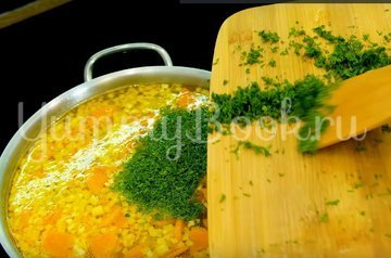 Куриный суп c макаронами - шаг 8