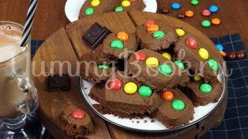 """Печенье """"Светофор"""" с конфетами M&M's - шаг 8"""