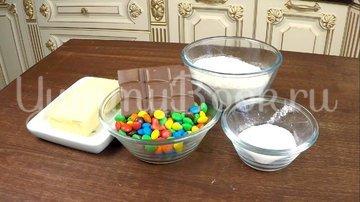 """Печенье """"Светофор"""" с конфетами M&M's - шаг 1"""