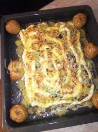Свинина на картофельном ложе, запечённая в духовке  - шаг 12
