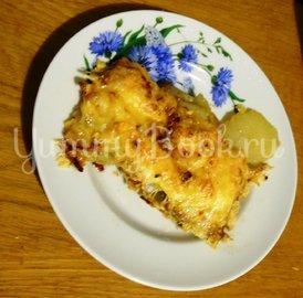 Свинина на картофельном ложе, запечённая в духовке  - шаг 10