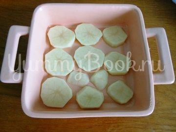 Свинина на картофельном ложе, запечённая в духовке  - шаг 3