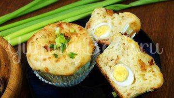 Закусочные кексы с яйцом и беконом - шаг 9