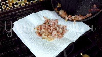 Закусочные кексы с яйцом и беконом - шаг 5
