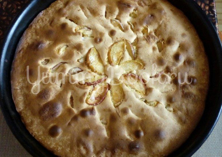 Пирог с яблоками - шаг 3