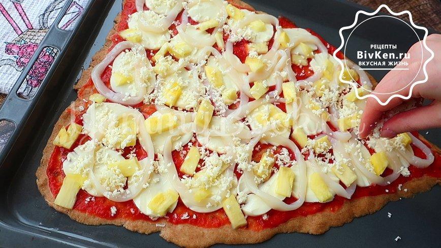 Сочная гавайская пицца - шаг 6
