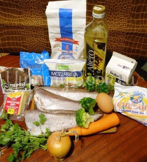 Кекс рыбный с брокколи - шаг 1