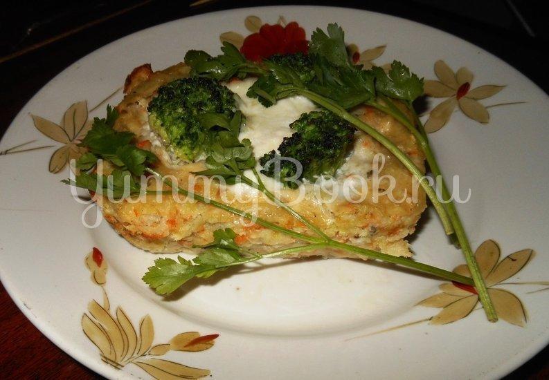 Кекс рыбный с брокколи - шаг 17